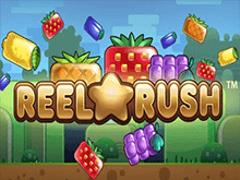 Reel Rush: логотип слот